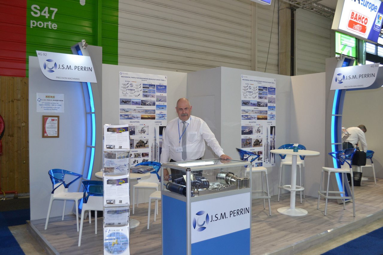 Stand au Bourget 2017
